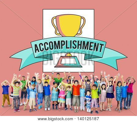 Accomplishment Achievement Concept