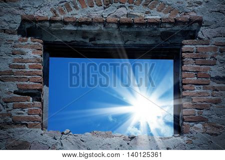 an image of a window