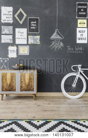 Home Space In Creative Style Idea