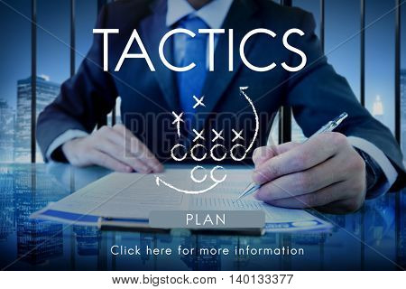 Tactics Strategy Planning Process Solution Vision Concept