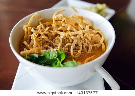 Khao Soi Recipe, Northern Style Curried Noodle Soup With Chicken