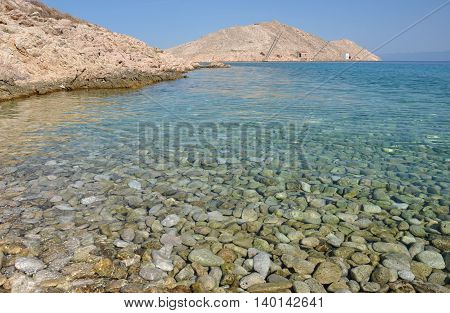 Adriatic Rocky Coast In Dalmatia