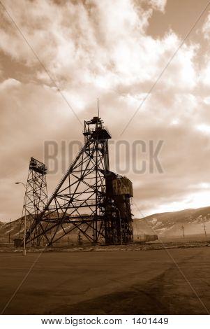 Torre de minería de Butte