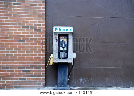 Street Pay Phone