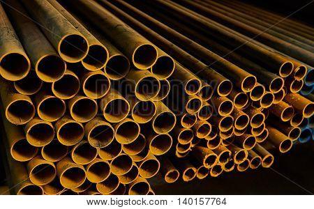 Coloured Iron Round Tubes