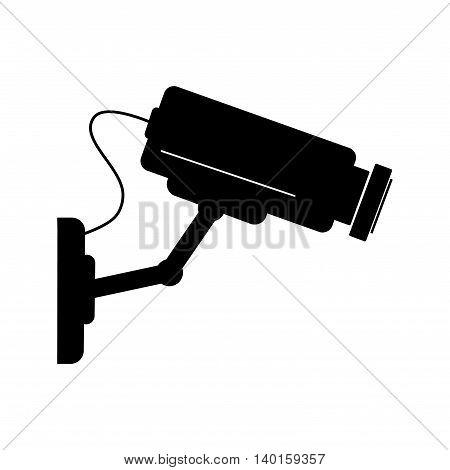 Video surveillance camera - vector illustration. Camera cctv.