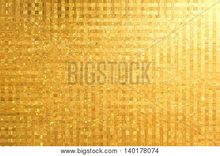 golden grunge background, raster illustration