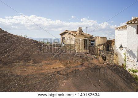 Villafames rural villa in Castellon, Valencia region in Spain
