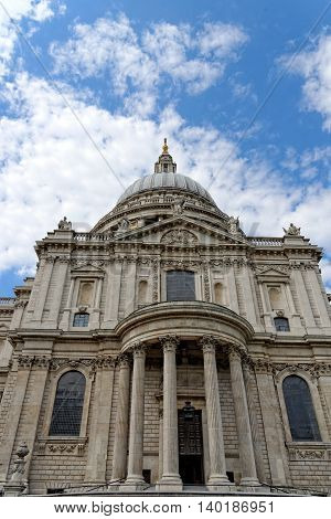 St. Paul Cathedral in London United Kingdom