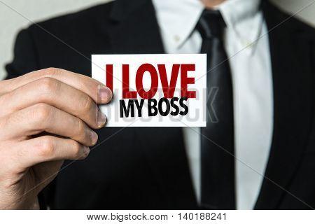 I Love My Boss