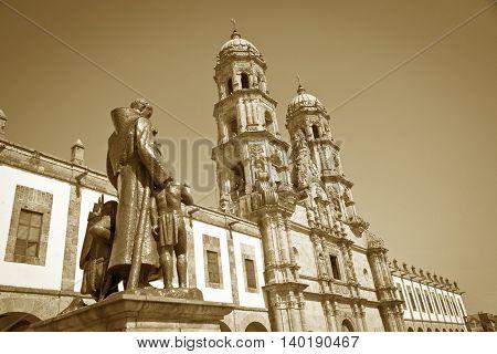 The beautiful Monuments of Guadalajara Jalisco Mexico
