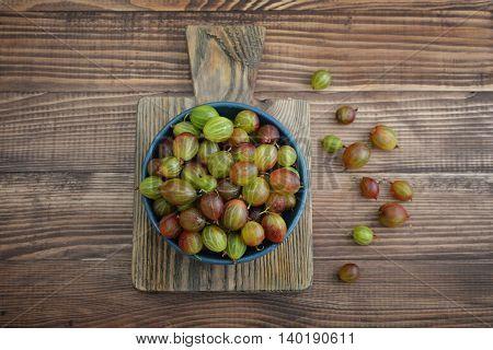 Fresh Ripe Gooseberries