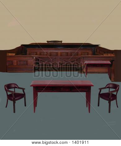 Fictional Courtroom