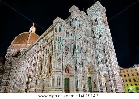 Cathedral of Saint Mary in Florence Italy