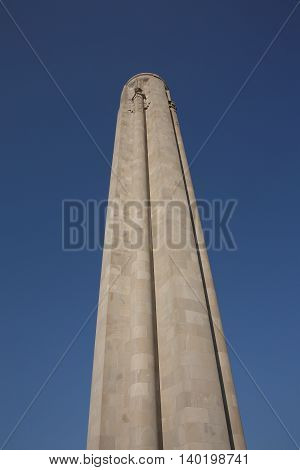 Liberty Memorial - Kansas, City, Missouri landmark atop National World War I Museum.