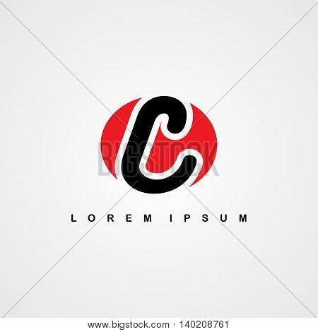 Initial Letter Linked Uppercase Logo