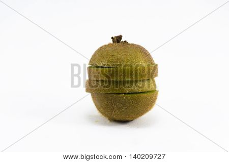 Kiwi isolated on white background.Fruit for health and Hi-vitamin and food.