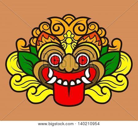 Kalamakara is the mythical giant head in Hindu culture