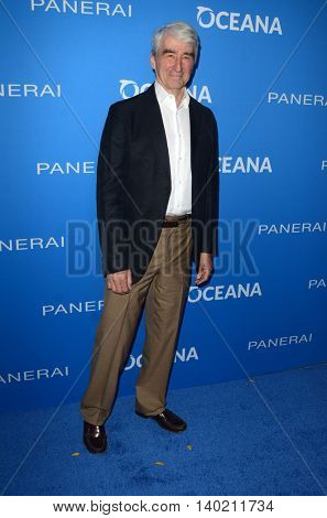 LOS ANGELES - JUL 19:  Sam Waterston at the Oceana Presents Sting Under The Stars at the Private Home on July 19, 2016 in Los Angeles, CA