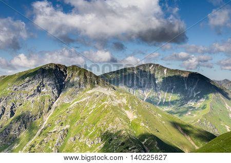 Slovak Western Tatras Mountains In Summer