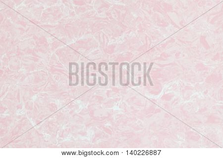 Closeup surface abstract marble pattern at pink marble stone wall texture background