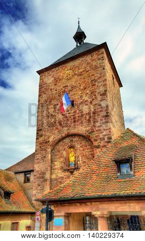 Tour des Forgerons, Blacksmiths tower in Molsheim - Alsace, France