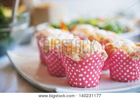 Cake Bakery Muffin Party Dessert Event Concept