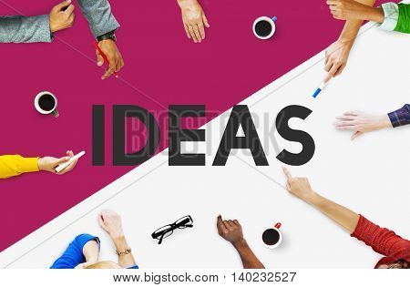 Business People Meeting Creative Marketing Concept