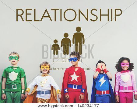 Relationship Family Generations Togetherness Concept