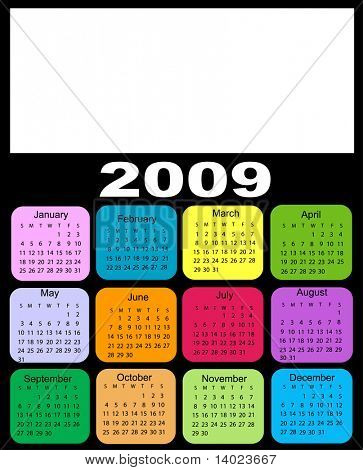 Calendar, 2009