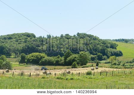 Agricultural Landscape in French Limousin
