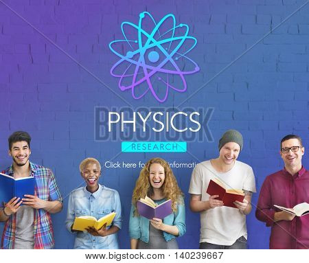 Physics Study Science Atom Energy Concept