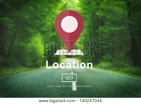 Location Marker Point Map Navigation Concept