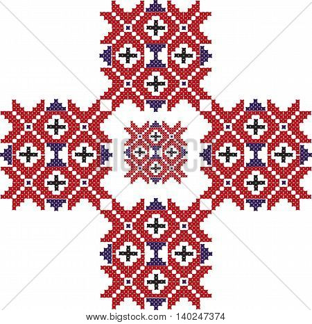 Vintage traditional abstract ornament pattern design. Vector
