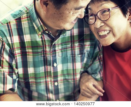 Couple Love Family Husband Wife Romance Concept