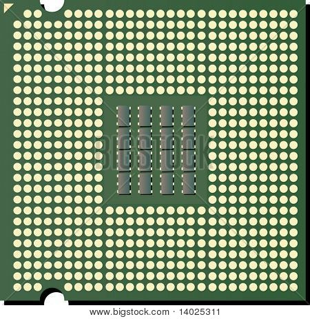vector CPU chip