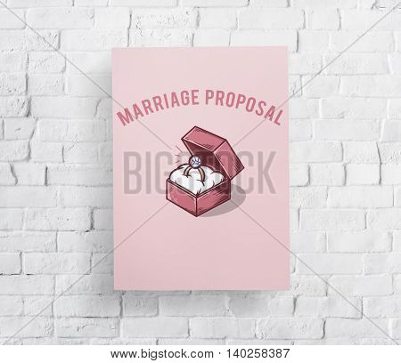 Wedding Ring Box Proposal Graphic Concept
