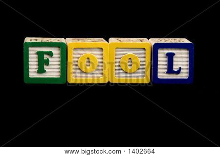 Fool Spelled Out