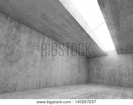 Abstract Concrete Interior Background 3 D