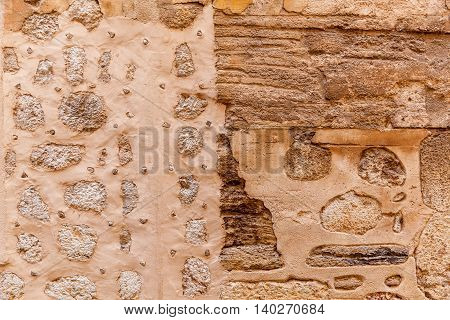 Stone texture of the wallabstraction ancient appearance architecture