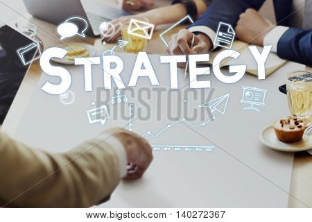 Management Branding Strategy Solutions Concept
