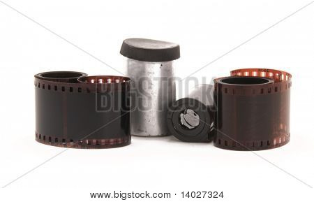 35 mm film negative rolls