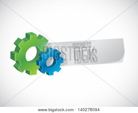 business ideas industrial sign concept illustration design graphic