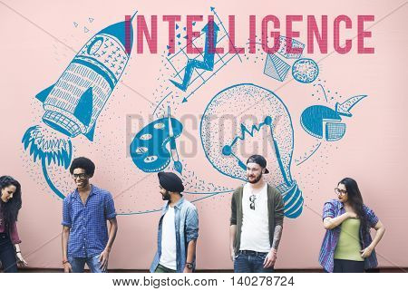 Intelligence Ideas Creativity Imagination Light Bulb Concept
