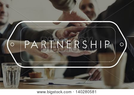 Partnership Alliance Agreement Teamwork United Concept