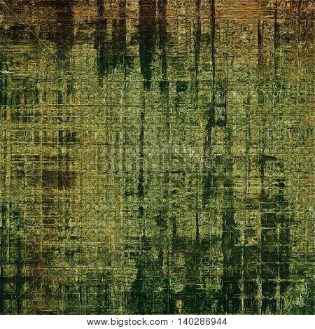 Grunge texture, decorative vintage background. With different color patterns: yellow (beige); brown; gray; black; green