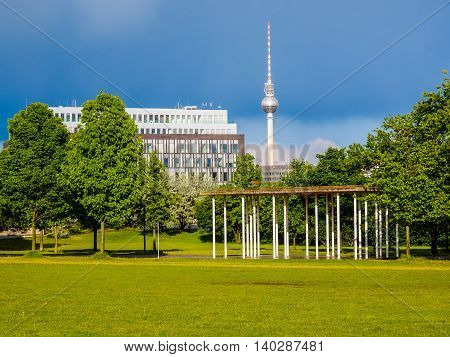Tv Tower Berlin Hdr