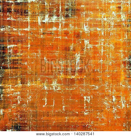 Abstract vintage colored background. With different color patterns: yellow (beige); brown; black; red (orange); white
