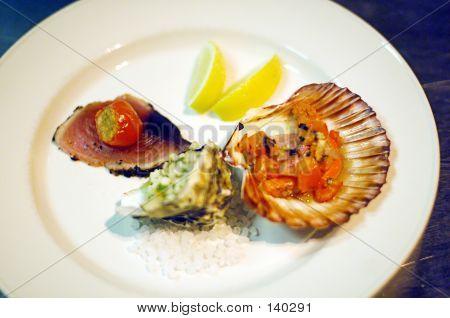 Seafood Entrée