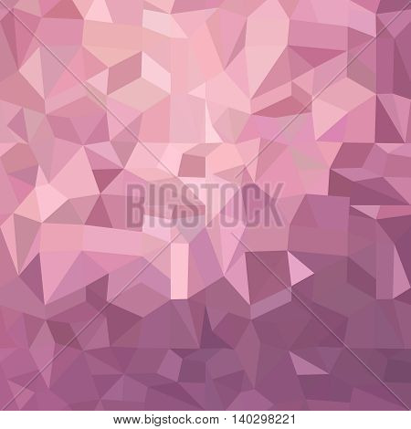 Pink Geometric Background Illustration